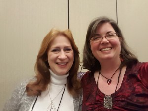 I convinced Debbie Dacus to attend Brain-Tuning with me!