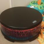 Kids gathering drum