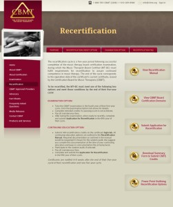 recertification